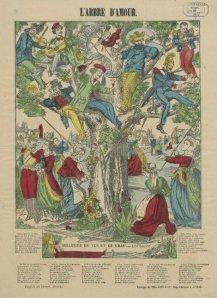 L'Arbre d'amour - Ilustración para una canción, 1876