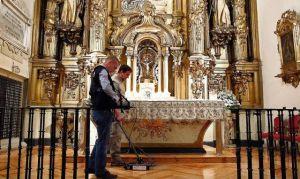 Continúan las tareas de localización de los restos de Cervantes en Madrid