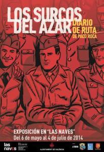 Paco Roca desnuda en una exposición su cómic sobre la liberación de París