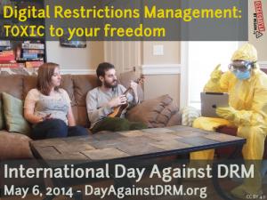 El Día Internacional contra los DRM tuvo lugar el pasado 6 de mayo
