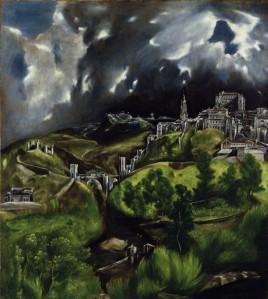 El Greco - Vista de Toledo (S. XVII)