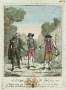 Entre nous, pas de façons - Ilustración para una canción, 1789