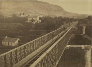 José Spreafico - Puente de pizarra del FFCC de Málaga a Bobadilla (1863?)
