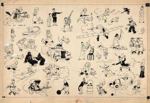 Tintín bate el récord mundial de venta de cómic en una subasta pública