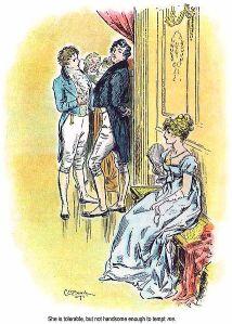 Jane Austen - Pride and prejudice, ilustración de C.E. Brock (1895)