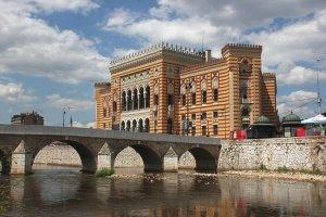 La Vijecnica, Biblioteca Nacional de Sarajevo