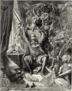 Ilustración de Gustave Doré para la edición francesa del Quijote de 1863