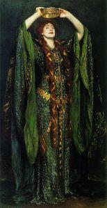 John Singer Sargent - Ellen Terry en el papel de Lady Macbeth (1889)