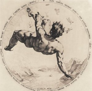 Hendrick Goltzius - Faetón ()