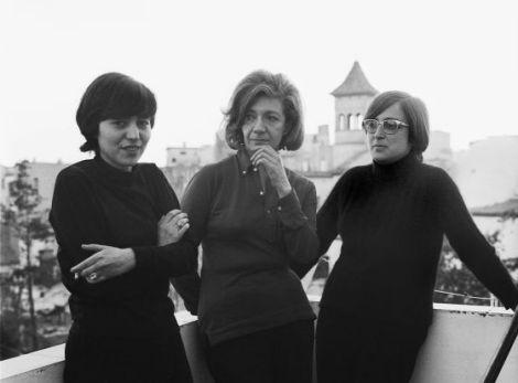 De izquierda a derecha : Ana María Moix, Ana María Matute y Esther Tusquets
