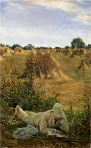 Sir Lawrence Alma-Tadema - 94º Degrees in the shade (1876)