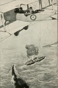 Charles Amory Beach - The Air Service Boys over the Atlantic (1920)