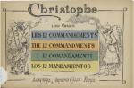 Christophe - Les Douze Commandements de Lord Curzon pour le temps de guerre (1915)