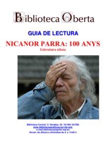 Nicanor Parra : 100 anys