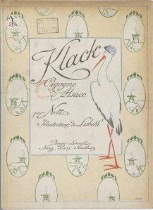 Lisbeth Nett – Klack, cigogne d'Alsace (1919)