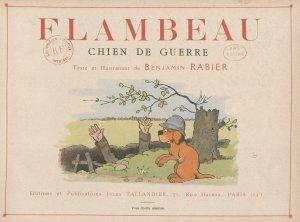 Benjamin Rabier – Flambeau, chien de guerre (191?)