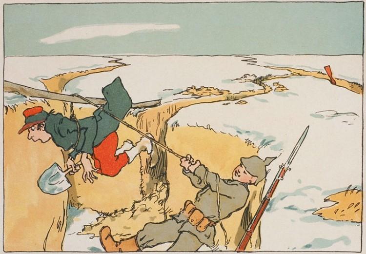 Arpad Schmidhammer - Hans und Pierre (1916)