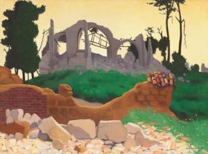 Félix Vallotton - Souain, 14 juin 1917
