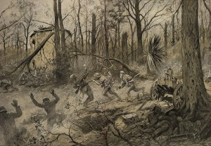 Georges Scott - American Marines in Belleau Wood (1918)