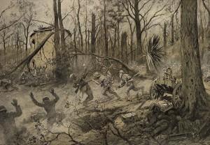 Georges Scott - American Marines in Belleau Wood (1918)