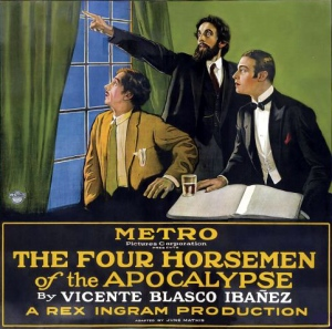 The Four Horsemen of the Apocalypse, cartel de 1921