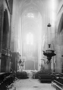 Iglesia Saint-Gervais de París en 1918