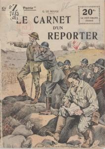 Gustave Le Rouge – Le Carnet d'un reporter (1918)