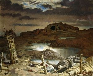 William Orpen – Zonnebeke (1918)