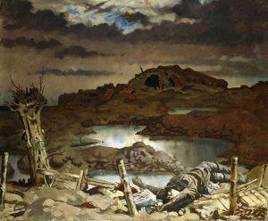 William Orpen – Zonnebeke (1918)