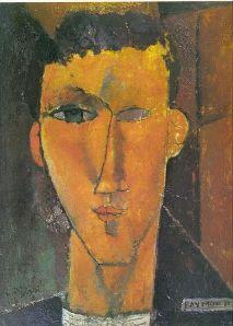 Amadeo Modigliani – Retrato de Raymon Radiguet (1915)