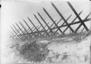 Una trinchera francesa en Souain (Marne), cerca de la zona en la que ocurrió el suceso que inspiraría « Paths of glory »