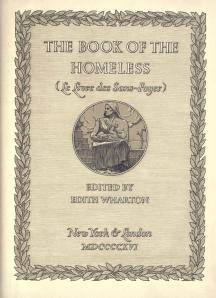 Edith Wharton (ed.) - The Book of the Homeless (1916)