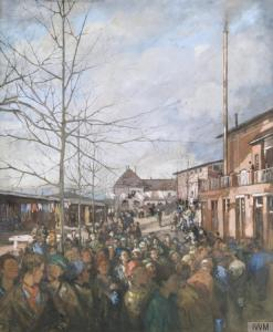 Nico Jungman - Ruhleben Prison Camp : Christmas Dinner (1917)