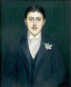Jacques Émile Blanche – Retrato de Marcel Proust (1892)