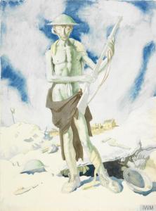 William Orpen – Blown up (1917)