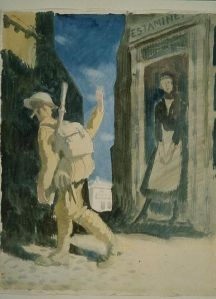 William Orpen - Goodbye (1917)