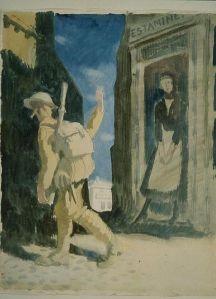 William Orpen - Goodbye (1917)