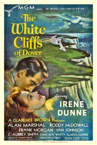 Cartel de la película « The White Cliffs of Dover » (1944) basada en la novela de Alice Duer Miller