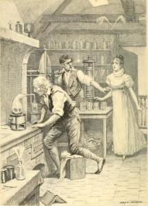 Honoré de Balzac – La Recherche de l'absolu, ilustración de Adrien Moreau, Xavier Le Sueur y Charles-Théodore Deblois (1899).
