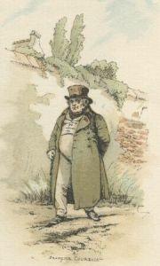 Honoré de Balzac - Une rue de Paris et son habitant, ilustración de François Courboin (1899)