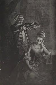 Alexandre Dumas – Joseph Balsamo, ilustración de una edición americana de 1893
