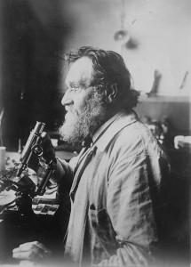 Iliá Ilich Méchnikov (1845-1916), microbiólogo ruso, Premio Nobel de Fisiología o Medicina en 1908