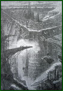 Jules Perrin – Le Monde sur le monde, ilustración de Henri Lanos (1910)