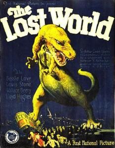 The Lost World, cartel de la película de 1925