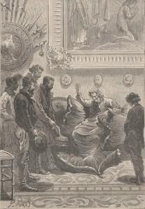 Jules Verne – L'île mystérieuse, ilustración de Jules Férat (190?)