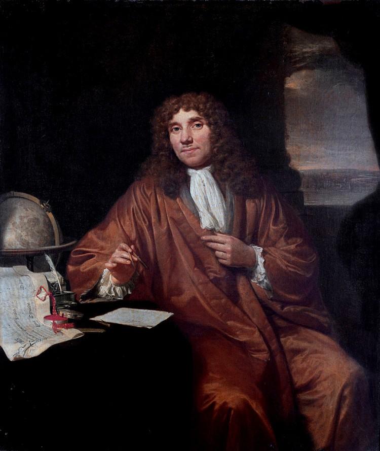 Anthonie van Leeuwenhoek, padre de la biología celular y la microbiología