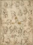 Seguidor de Hyeronimus Bosch – Mendigos y cojos, estudios (1465-1569)