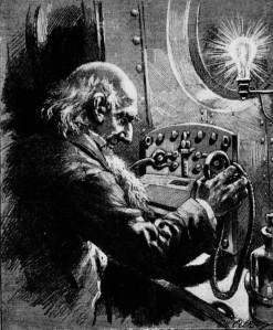 Louis Boussenard - Les Secrets de Monsieur Synthèse, ilustración de Charles Clérice (1892)