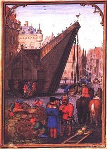 Brujas en el siglo XVII, ilustración de Simon Bening