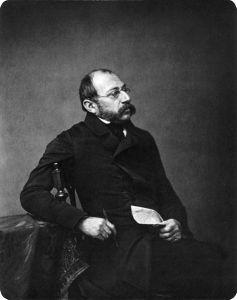 Carl Spitzweg, retratado por Franf Hangstaengl